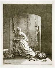 Dutch housewife during Renaissance, Holland 1650