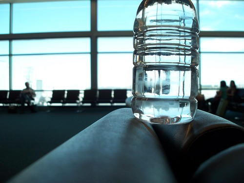Water Bottle in the Airport