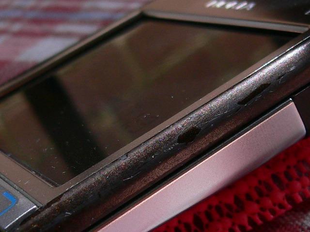 Nokia e6i Sides Peeling