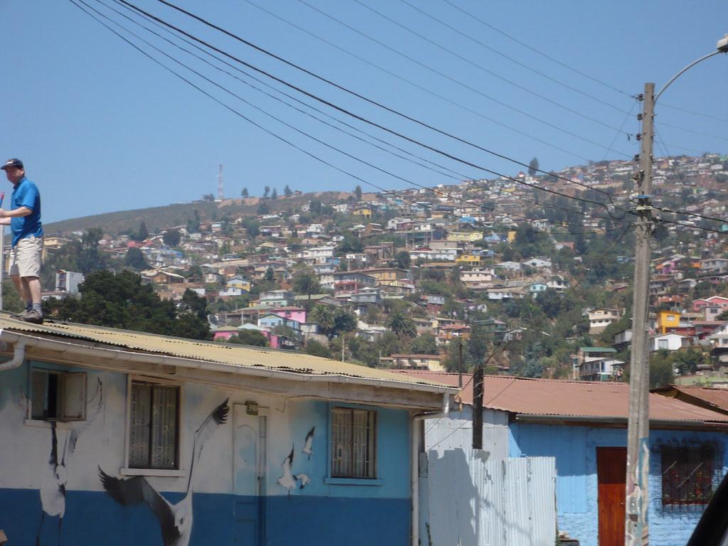 Los cerros de Valparaíso