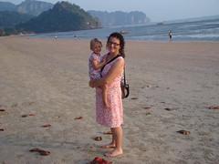Nopparath Thara beach Ang & Tash