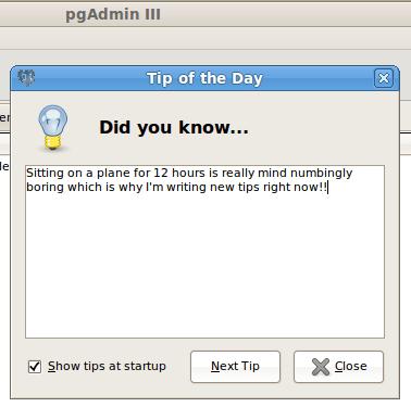pgadmin-3-tip