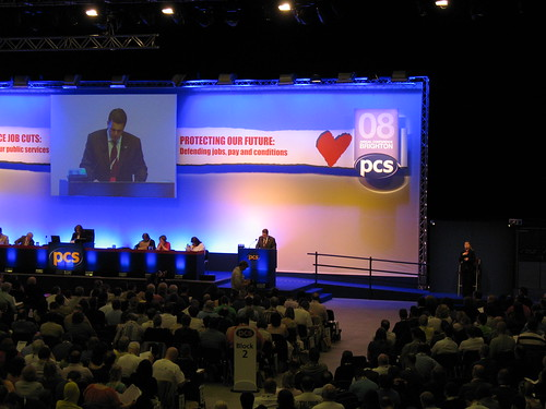 Mark Serwotka Addressing the 2008 PCS Conference