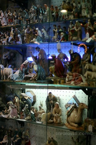 More Nativity Scene figures, Spaccanapoli, Naples, Italy