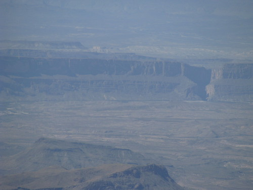 Santa Elena Canyon, nearly 20 miles away