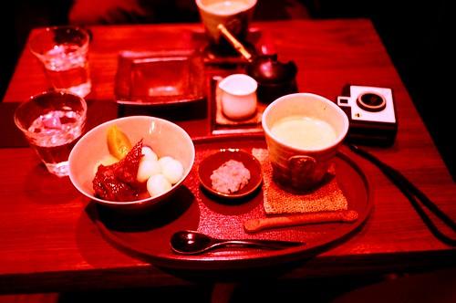 [鎌倉]咖啡與水果白玉蜜豆