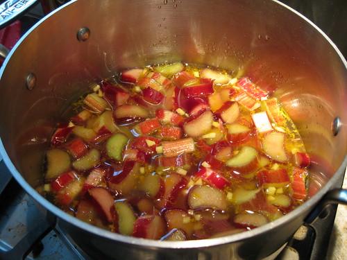 Rhubarb Sorbet - Ingredients