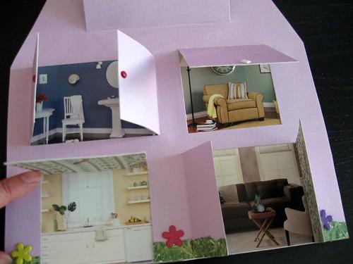 dollhouse rooms closeup
