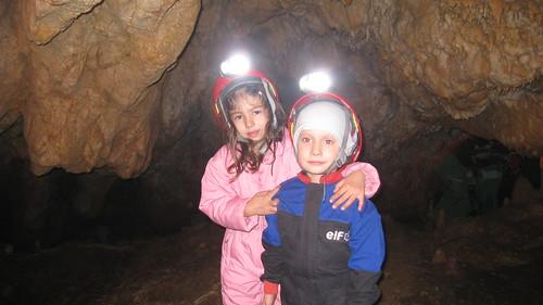 Roko and Ema - the future of Croatian caving! :)))