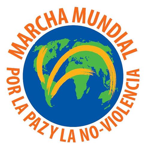 Logo Marcha Mundial por la Paz
