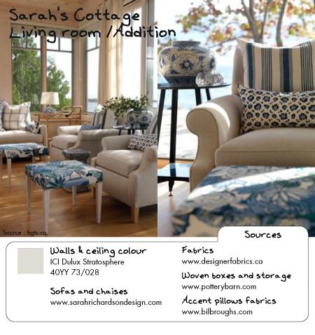 Sarah's Cottage living room 2