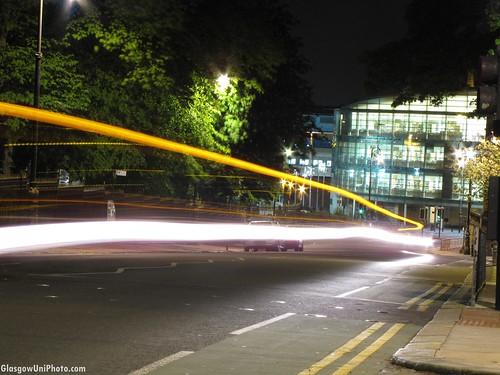 University Avenue at Night