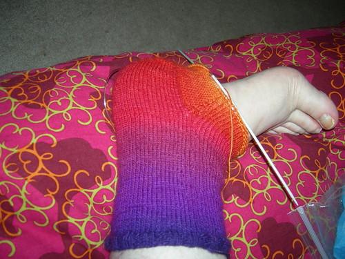 gradient sock wip
