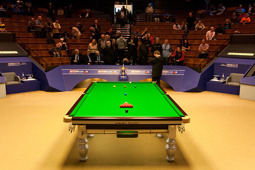 Snooker World Championship final - before match
