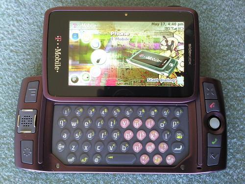 life with the sharp t mobile sidekick lx tnkgrl media rh tnkgrl com New T-Mobile Sidekick New T-Mobile Sidekick