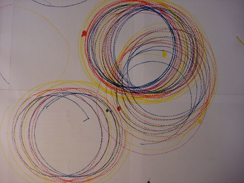 Doodling and circling - 1