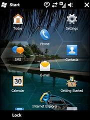 Windows Mobile 6.5 main