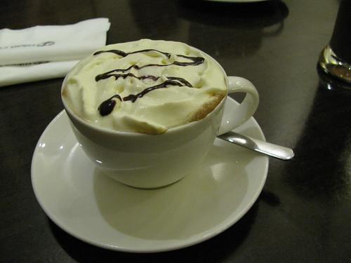 Cafe Mocha at Biksa Coffee (Executive)