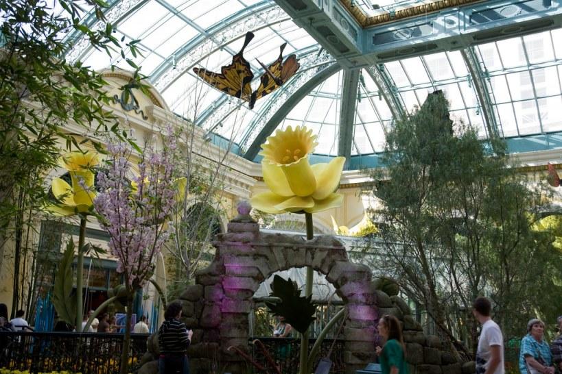 Alice in Wonderland Style Garden at Bellagio, Las Vegas
