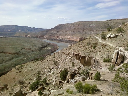 Marys Trail near Fruita.  I love running desert singletrack like this!!  When Im not limping...