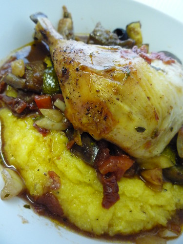 Chicken with Roasted Vegetables