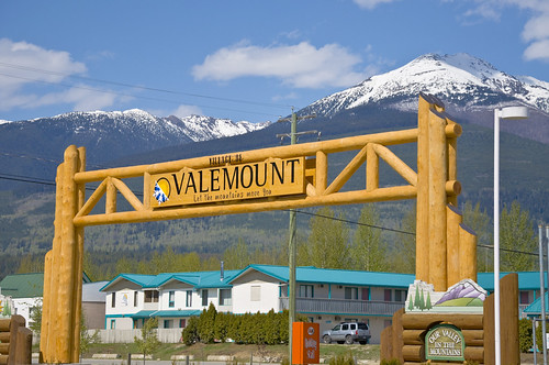 Village of Valemount in British Columbia