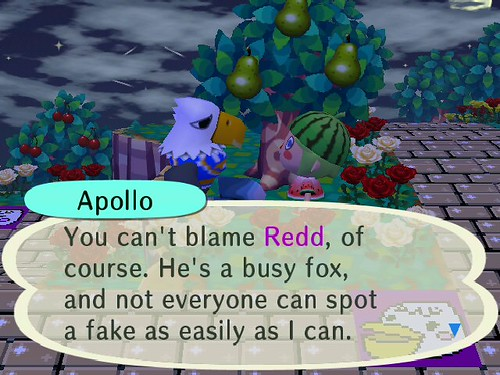 Apollo apparently has ties with Crazy Redd