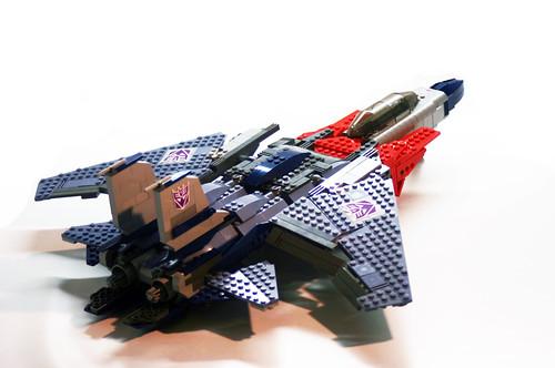 LEGO Starscream Transformer