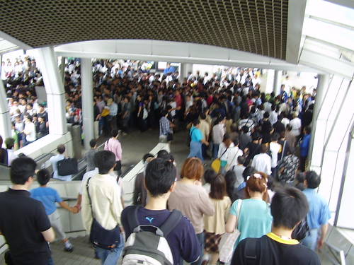 Tokyo Game Show 2006 - just 1/10000 of the people there and this was waaaayyy at the back of the line