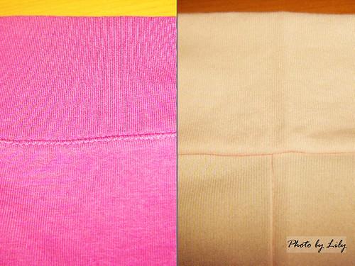 Uniqlo與Lativ抗UV外套縫製比較