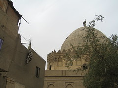 rear angle on the mausoleum of imam al-shafi'i