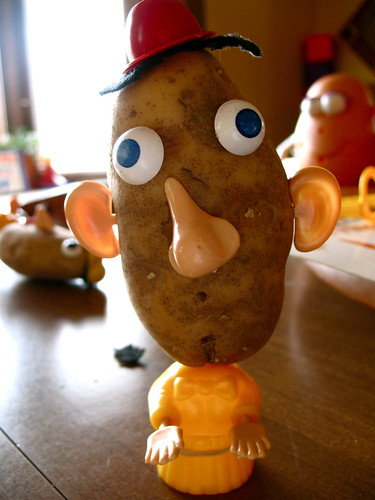 vintage potato head