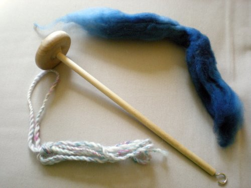 spindle and wool