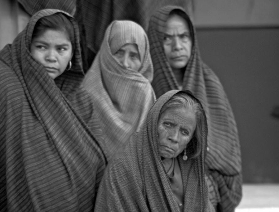 Donne povere in messico a Tlamacazapa Guerrero