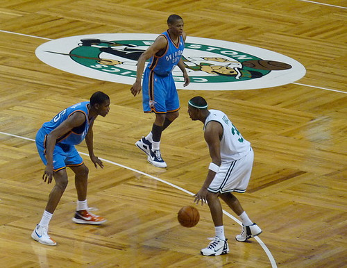 Pierce vs. Durant