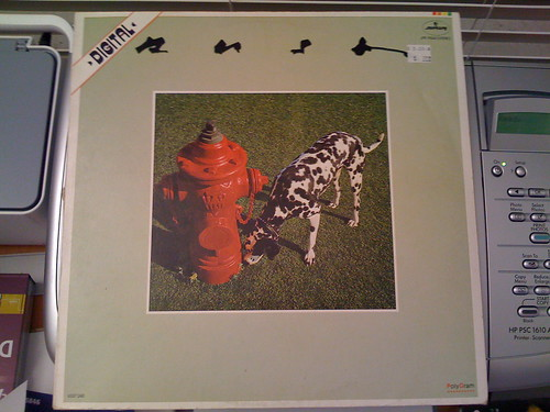 Rush - Signals, in Spanish, front side
