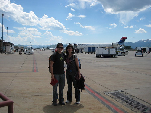 Quinn and Jeanine in Jackson Hole