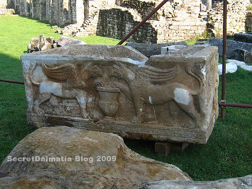 The newly discovered sarcophagus