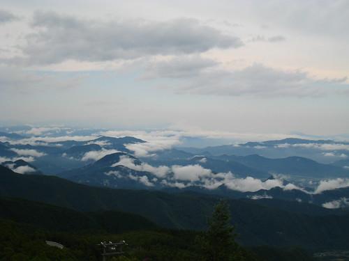 Overlooking Nagano