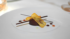 10th Course: Chocolate Olive Oil (Chef's Tasting)