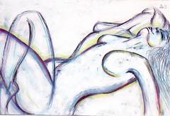 Ecstasy - 21x36 Mixed Media on canvas