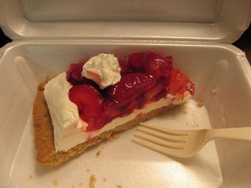Strawberry pie from Almost Home