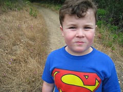Leo Hiking Edgewood County Park