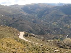 """Les """"carracoles"""" du dernier col à passer avant Ayacucho"""