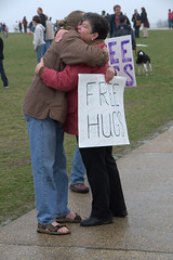 Free Hugs on the Mall