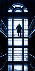 UK - Oxford - Prison silhouette by Darrell Godliman