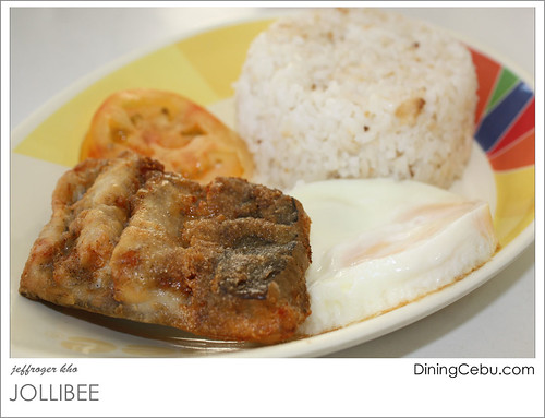 Jollibee Breakfast Meals - Fish Fillet