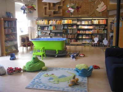 More of the Children's section