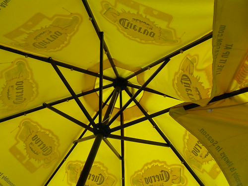 Yellow Umbrella by you.