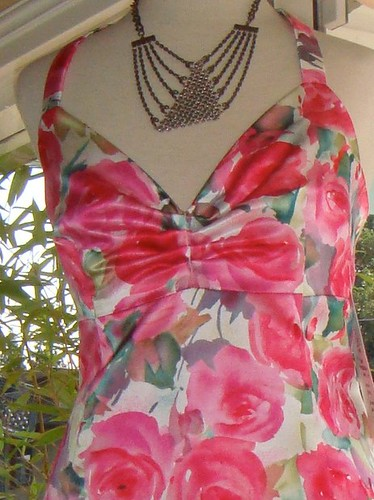 Ms Fizzs new dress, more fabulous on her as she fills out the top!